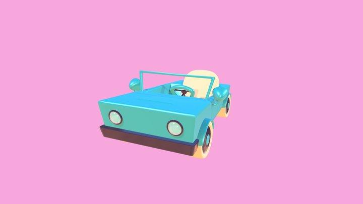 Toy Car 1 3D Model