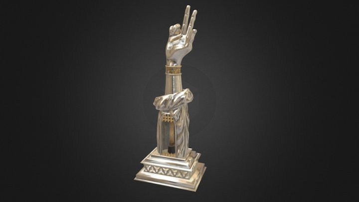 Reliquary Arm of St. Valentine 3D Model