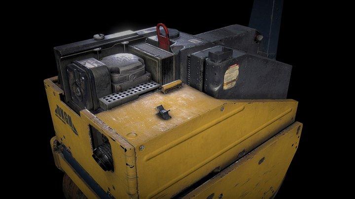 Dekogon - Roller Machine 3D Model