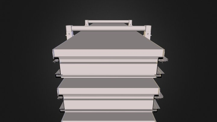 Crate Simpson 3D Model