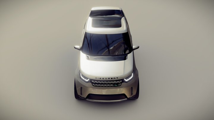 Land Rover Discovery Vision Concept 3D Model