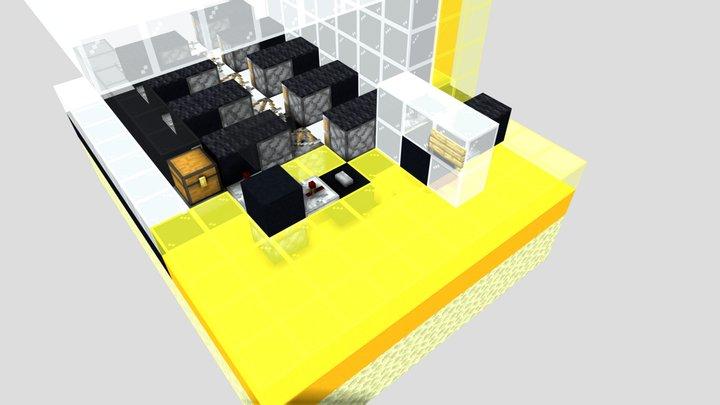Pistonbolt-start with selection 3D Model