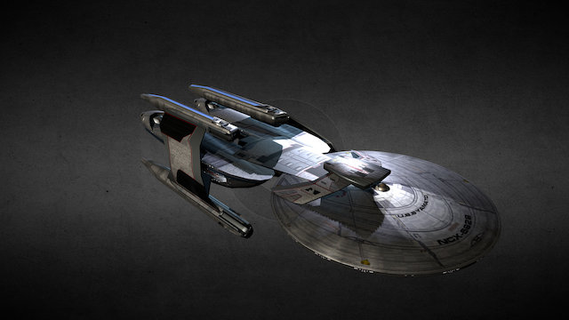 Yamato Class Experimental Battleship 3D Model