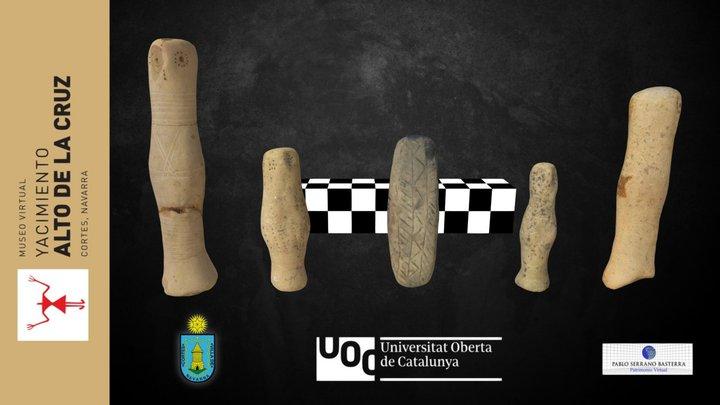 Idolillos de cerámica 3D Model
