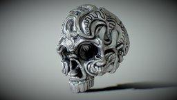 Voodoo Skull 3D Model