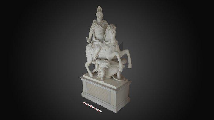 Pomnik konny Jana III w Wilanowie (Wil.Wn.143) 3D Model