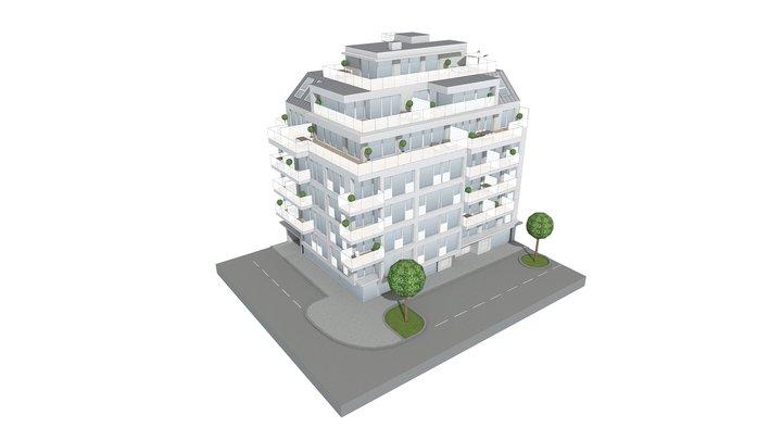 Der Goldene Schwan 3D Model