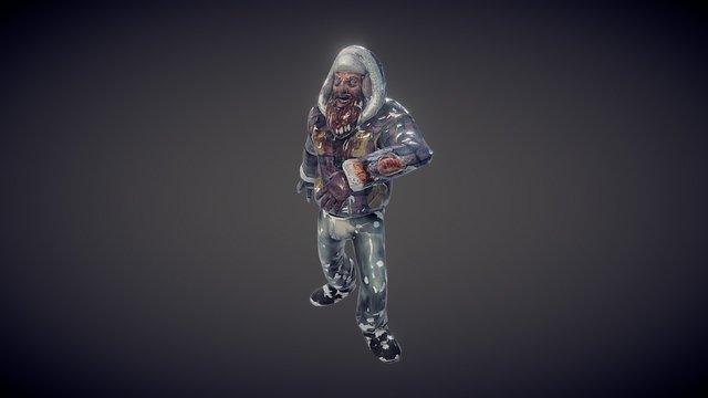 Zombie Lumberjack 3D Model