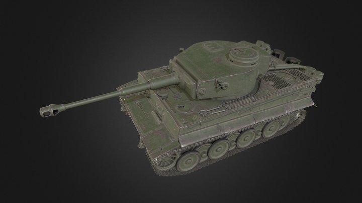 Tiger I Japan 3D Model