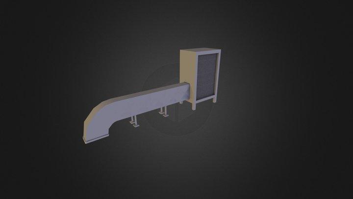 Rooftop Ventilation 3D Model