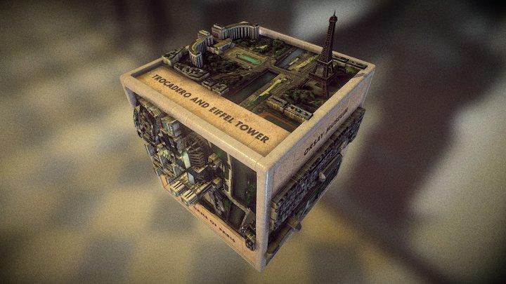 Paris Cube 3D Model