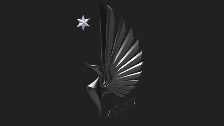 Minnesota United F.C. badge 3D Model