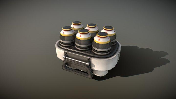 Liquid Container 3D Model