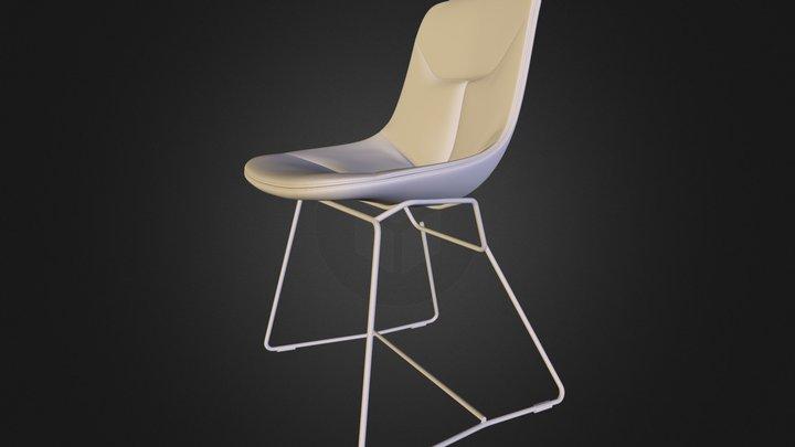 Free 3d model: Corina Chair by Zanotta 3D Model