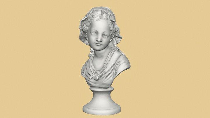 900 Girl' sculpture 3D Model