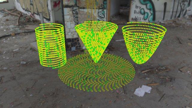 prime bead spirals 3D Model