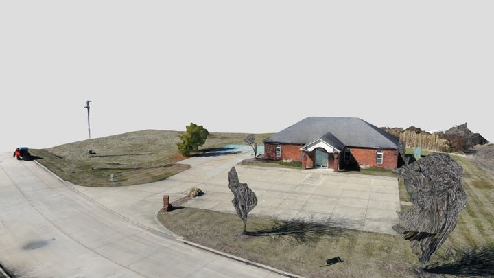 Lucky Dog Lodge Columbia IL 3D Model