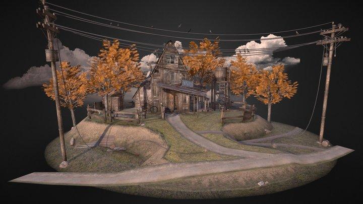 Autumn Nest 3D Model