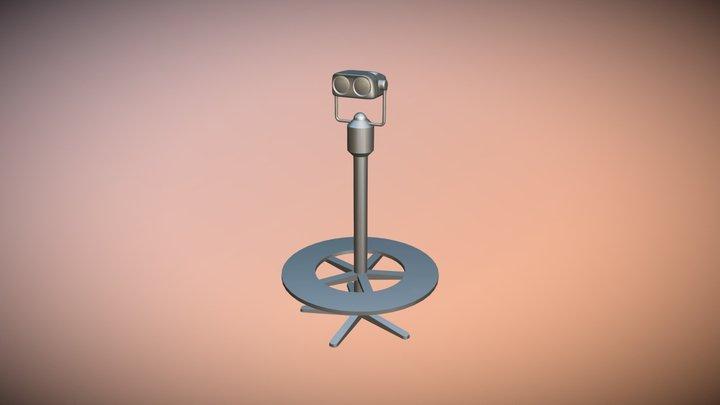 Viewer Dented 3D Model