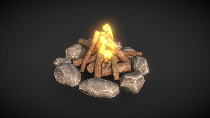 Campfire 3D Model
