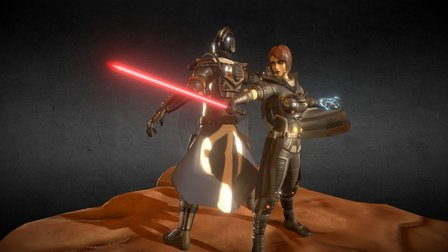 The Old Republic - Team up 3D Model