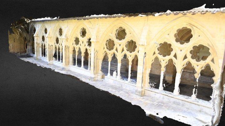 Cloître, galerie Ouest - 64100 BAYONNE 3D Model