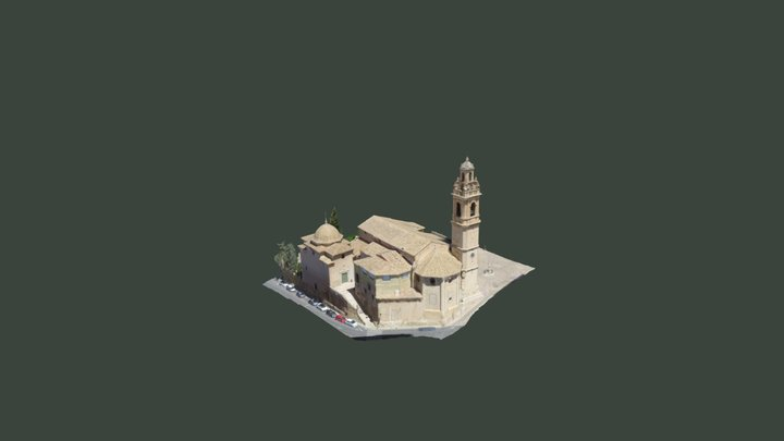 Iglesia Biar, Alicante 3D Model