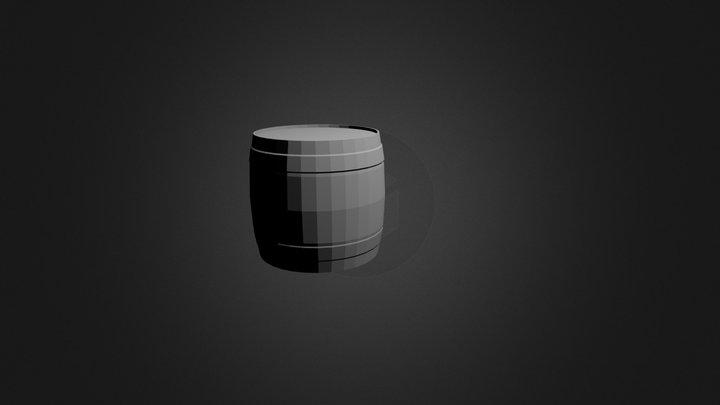 barrel_01.blend 3D Model