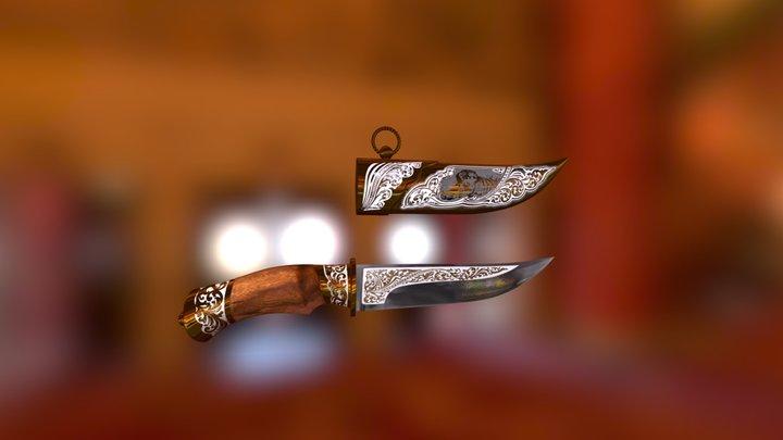 Knife for Diamond Trading House 3D Model
