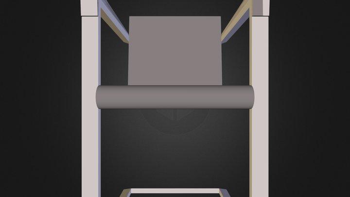 chaise1.dae 3D Model