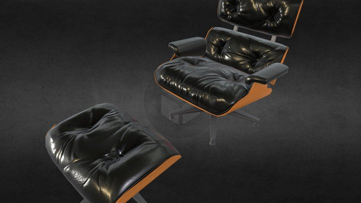 Dames Chair 3D Model