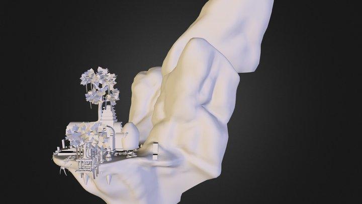 wholetemple.obj 3D Model