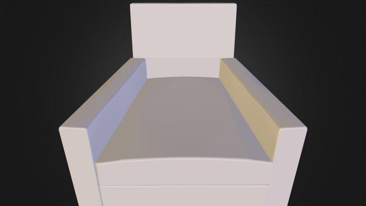 poltrona 07 3D Model