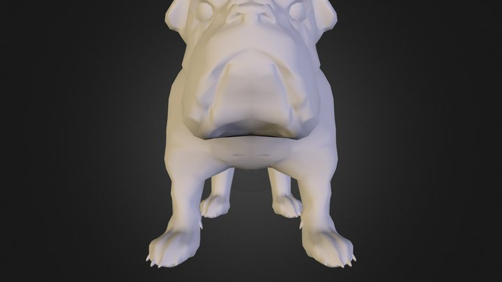 bulldog-obj-mtl-jpg.zip 3D Model