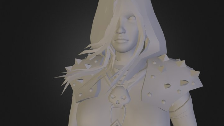 DeathKnight_OBJ.obj 3D Model