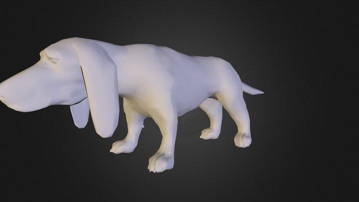 basset-obj.zip 3D Model