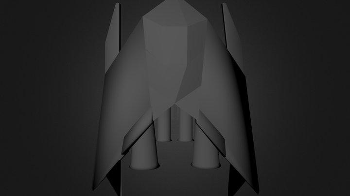 Spaceshipmesh.blend 3D Model