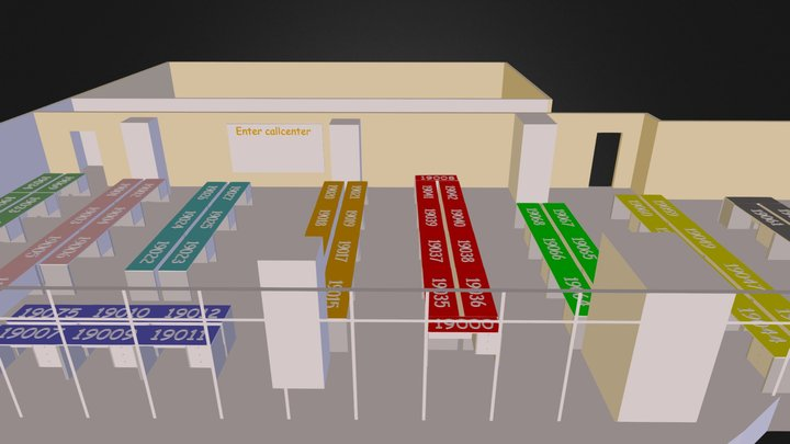 Call_cEnter_Saratov.3ds 3D Model
