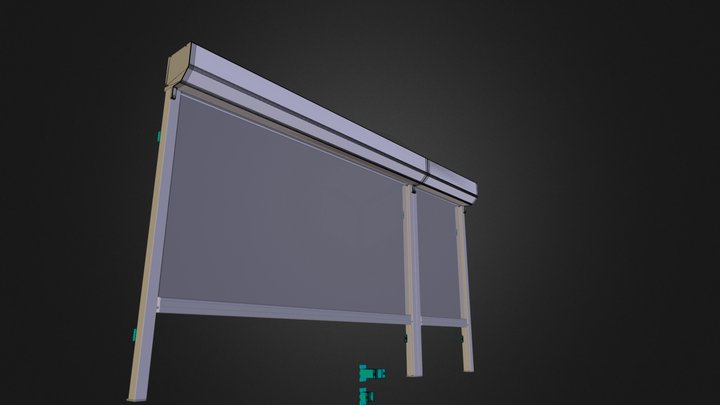 Tundra Midi Screen - Prosjekt 3D Model