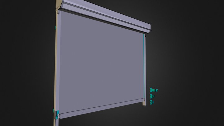 Tundra Zip Screen 3D Model