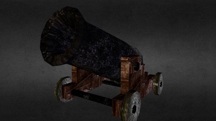 eq_cannon.obj 3D Model
