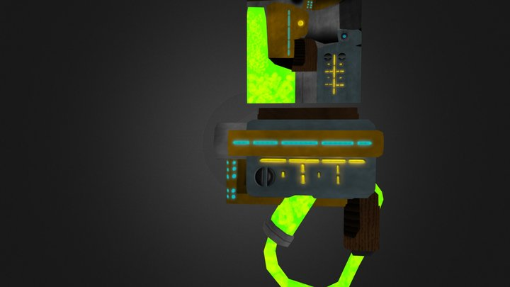 Weapons Poulpe 3D Model