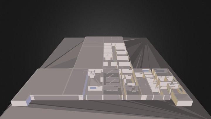 DTS 1st floor ONLINE.dae 3D Model