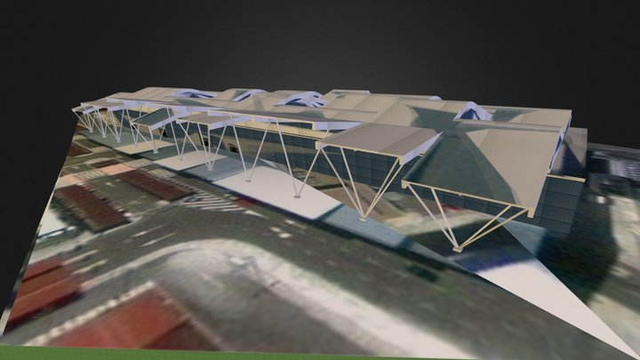 Aeropuerto de Zaragoza 3D Model