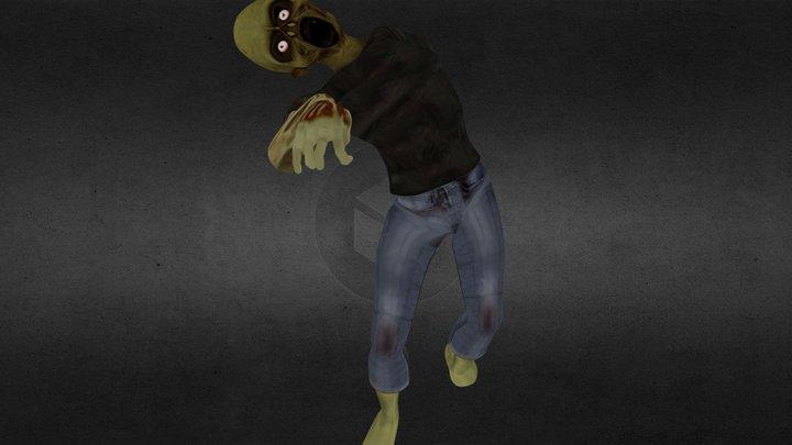 Zombie pose 3D Model