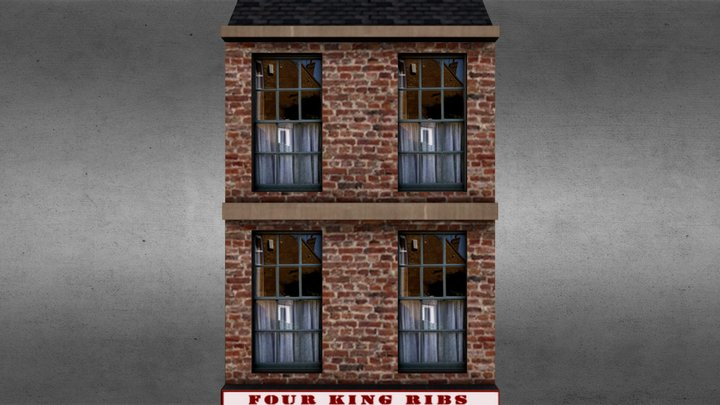 Butchers Shop 3D Model