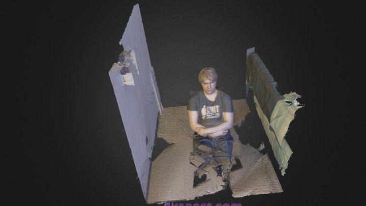 Miki_Test_Person 3D Model