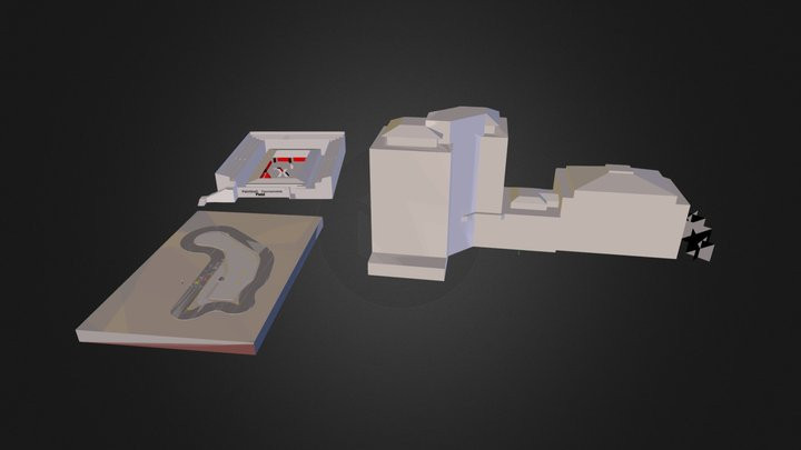 Centre Commercial 3D.dae 3D Model