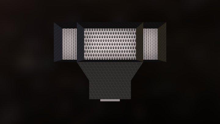 EMSP Hydrogen Scoop 3D Model
