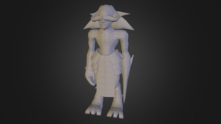 WIP - Forest Guardian 3D Model